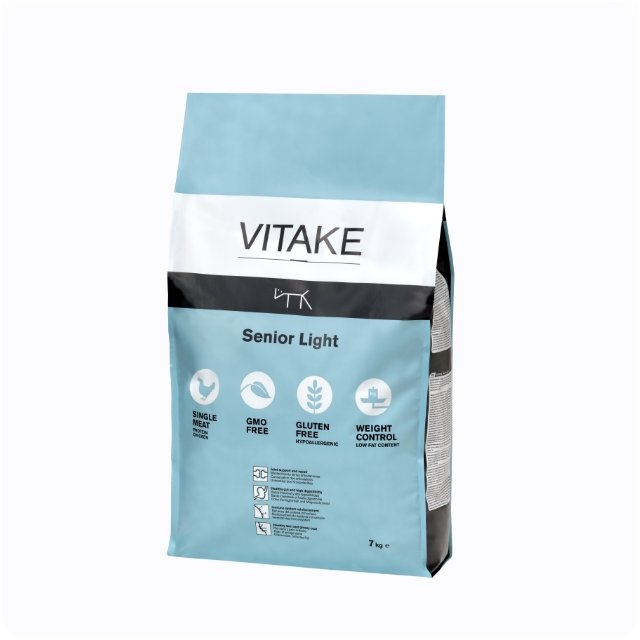 Vitake Senior light 7 kg - Pienso Light Para Perros